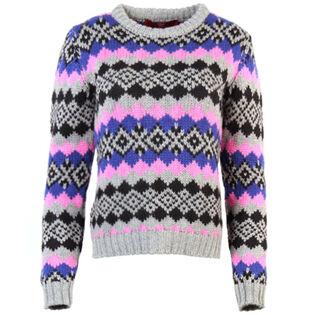 Women's Patterned Alpine Sweater