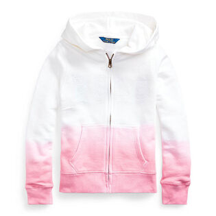 Junior Girls' [7-16] Dip-Dyed French Terry Hoodie