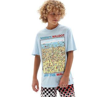 T-shirt Où est Charlie? Beach pour garçons juniors [8-16]