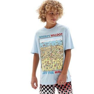 Junior Boys' [8-16] Where's Waldo? Beach T-Shirt