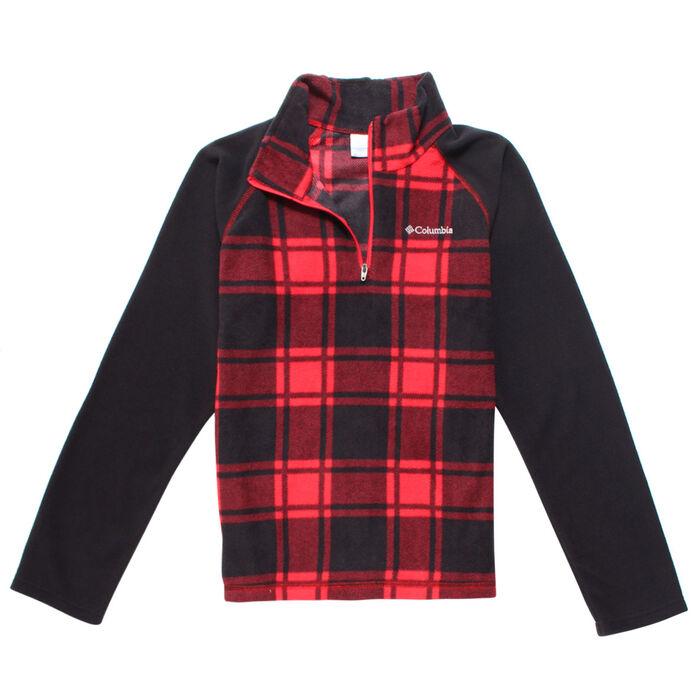 Junior Boys' [6-16] Glacial™ III Fleece Half-Zip Jacket