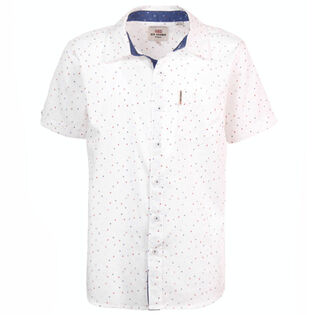 Junior Boys' [8-16] Triangle Geo Print Shirt