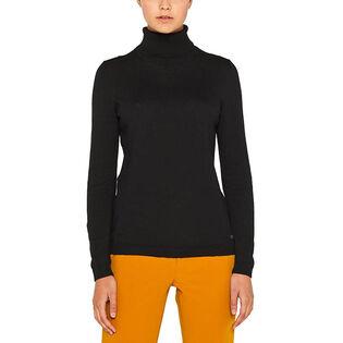 Women's Basic Turtleneck Sweater