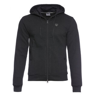Men's Quilted Interlock Fleece Jacket