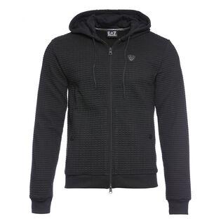 Men's Quilted Interlock Fleece Jacket