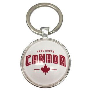True North Canada Keychain