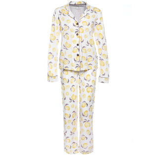 Women's Playful Printed Two-Piece Pajama Set