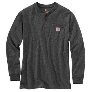 Men's Workwear Long Sleeve Henley T-Shirt
