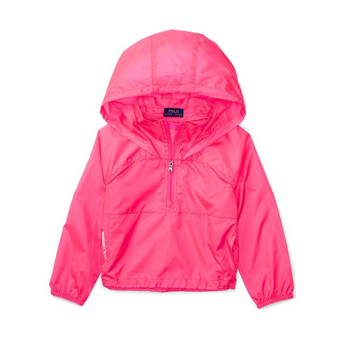 Girls' [5-6X] Ripstop Windbreaker Jacket