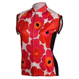Women's Full-Zip Flower Print Jersey