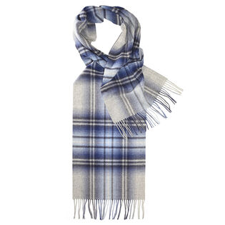 Unisex Check Scarf