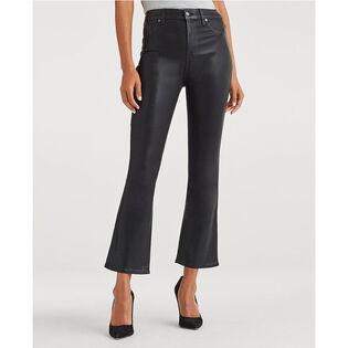Women's High Waist Slim Kick Jean