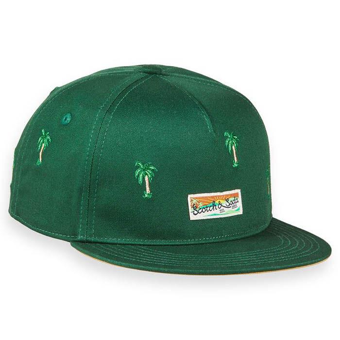 Junior Boys' [8-16] Palm Embroidery Cap