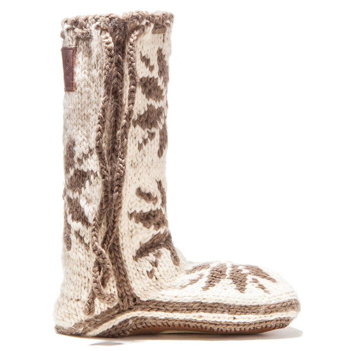 Pantoufles-chaussettes Chalet pour femmes
