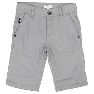 Junior Boys' [4-16] Cotton Twill Short