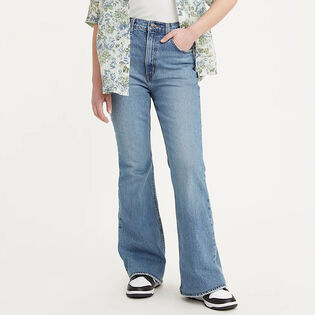Women's '70S High Rise Flare Jean