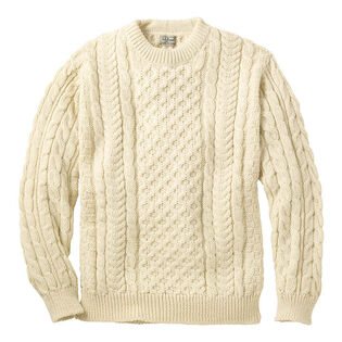 Men's Irish Fisherman's Heritage Sweater