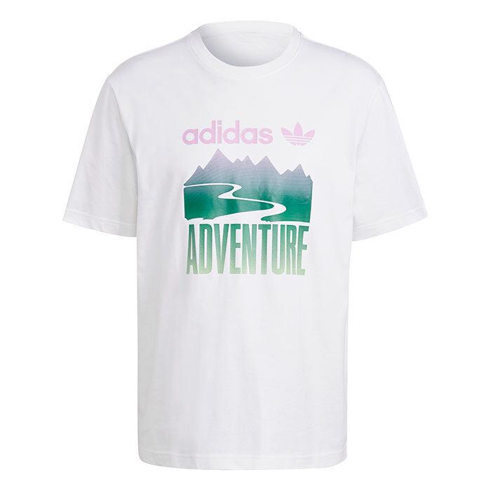 T-shirt Adventure Mountain Logo pour hommes