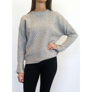 Women's Calvin Bell Sleeve Sweater