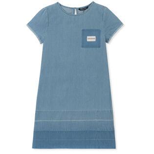 Junior Girls' [8-16] Chambray Shift Dress