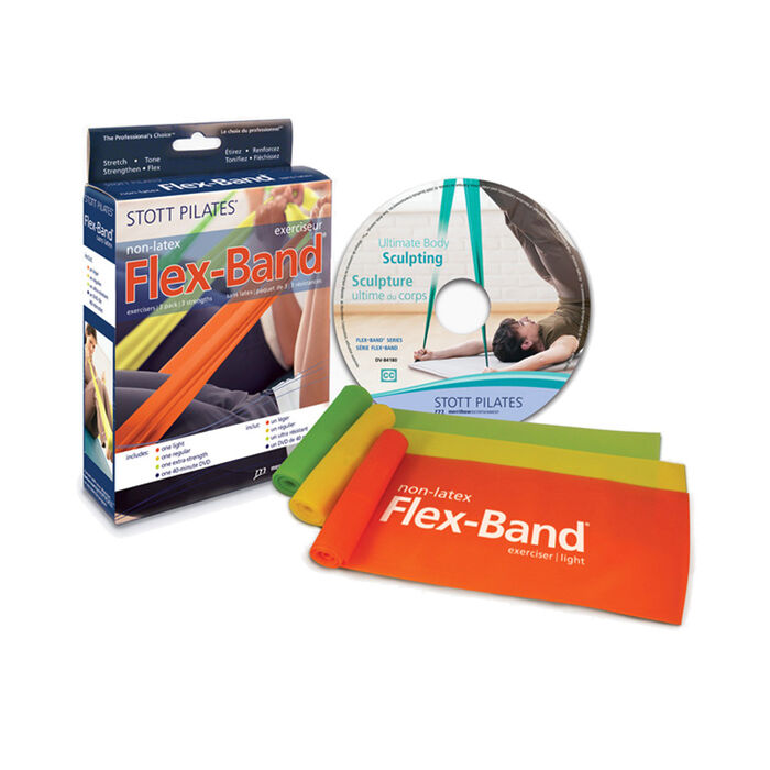 Flex-Band Non-Latex Three-Pack With Dvd