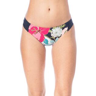 Women's Royal Botanical Bikini Bottom