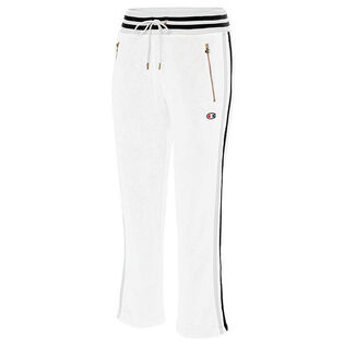 Women's Terry Warm Up Slim Flare Pant