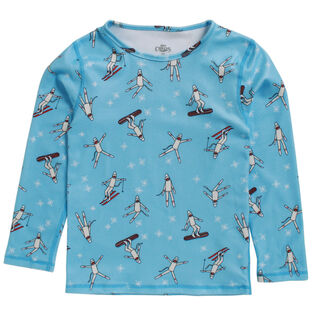 Junior [1-8] Unisex Fleece Print Top
