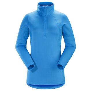 Women's Rho AR Zip Neck Top