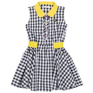 Girls' [3-6] Gingham Dress