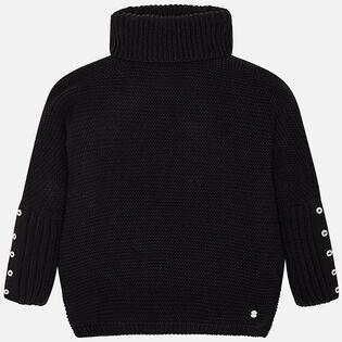Junior Girls' [8-16] Oversized Sweater