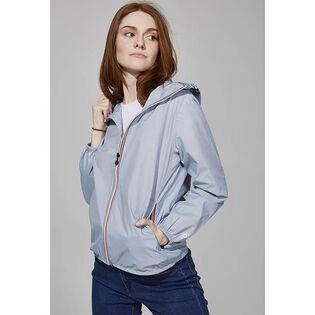 Manteau compact à glissière pleine longueur pour femmes