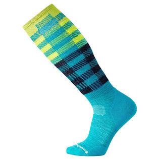 Unisex PhD Check Ski Sock