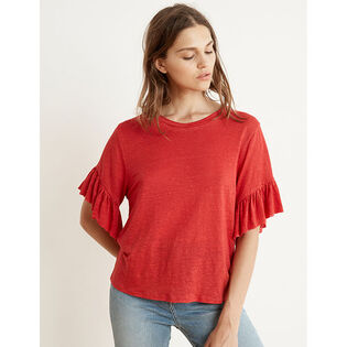 Women's Layla Ruffle Sleeve T-Shirt