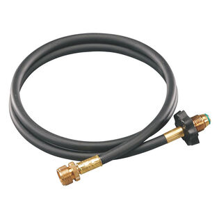 High-Pressure Propane Hose + Adapter (5 Ft)