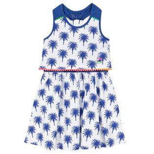 Girls' [3-6] Palm Tree Dress