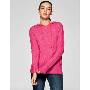 Women's Knit Hooded Sweater