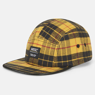 Unisex Five Panel Tartan Cap