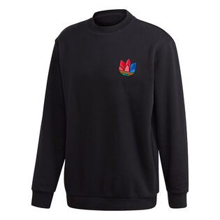 Men's 3D Trefoil Graphic Crew Sweatshirt