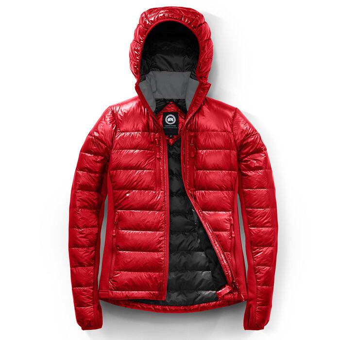Manteau Hybridge Lite à capuchon pour femmes