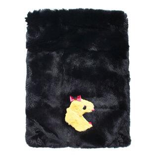 Women's Fur Drawstring Backpack