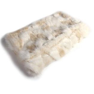 Arctic Fur Trow Blanket