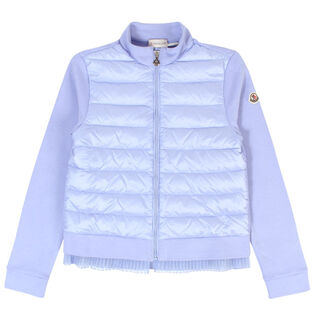 Junior Girls' [8-14] Pleated French Terry Jacket