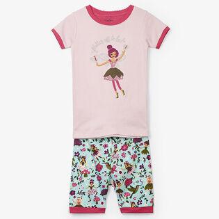 Pyjama deux pièces fées des bois pour fillettes [2-7]