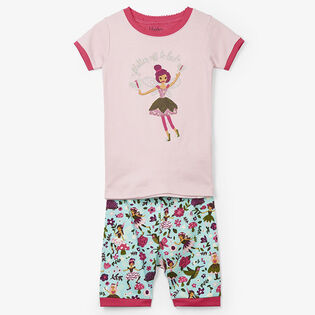 Girls' [2-7] Forest Fairy Two-Piece Pajama Set