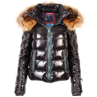 Women's Tonal Shine Quilted Jacket