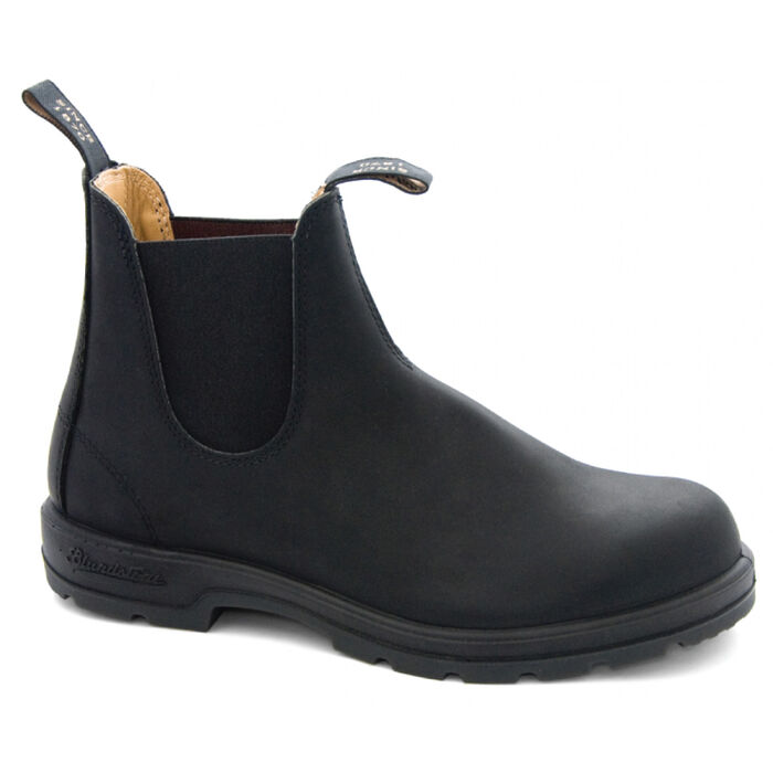 #558 The Leather Lined Boot In Black