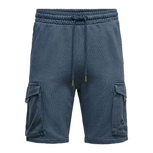 Men's Cargo Sweat Short