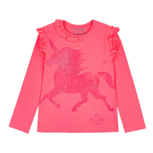 Girls' [3-6] Unicorns Are Real T-Shirt