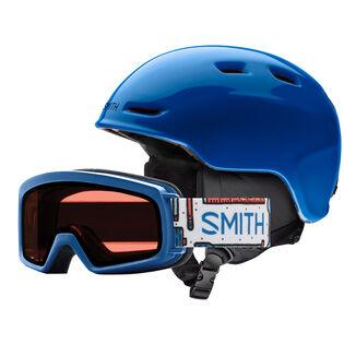 Juniors' Zoom Helmet + Rascal Snow Goggle Combo [2019]